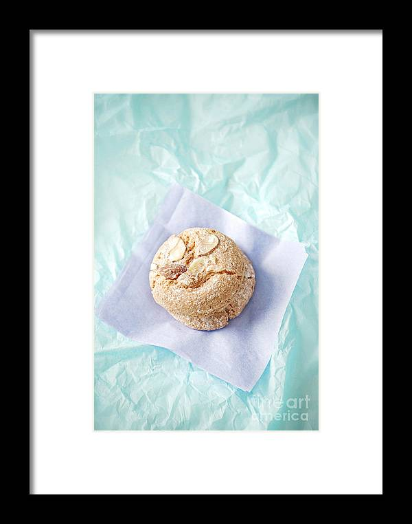 Almond Cookies Framed Print featuring the photograph Almond Cookies by HD Connelly