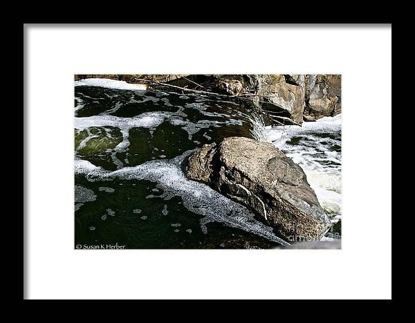 Outdoors Framed Print featuring the photograph Almost Over by Susan Herber