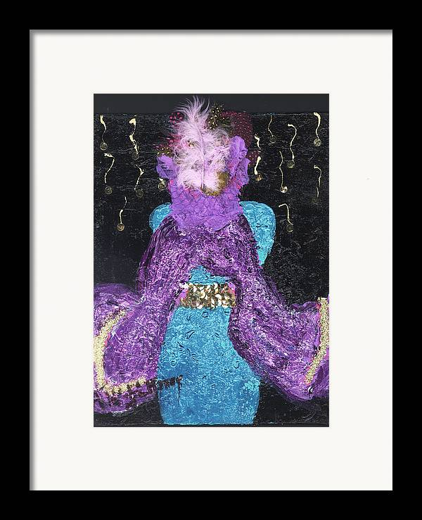 Women Framed Print featuring the painting Althea Survives by Annette McElhiney