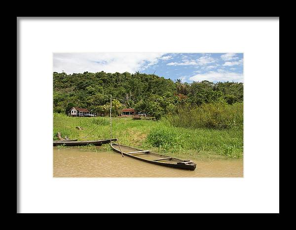 Amazon Framed Print featuring the photograph Amazon Homestead by Robert Selin