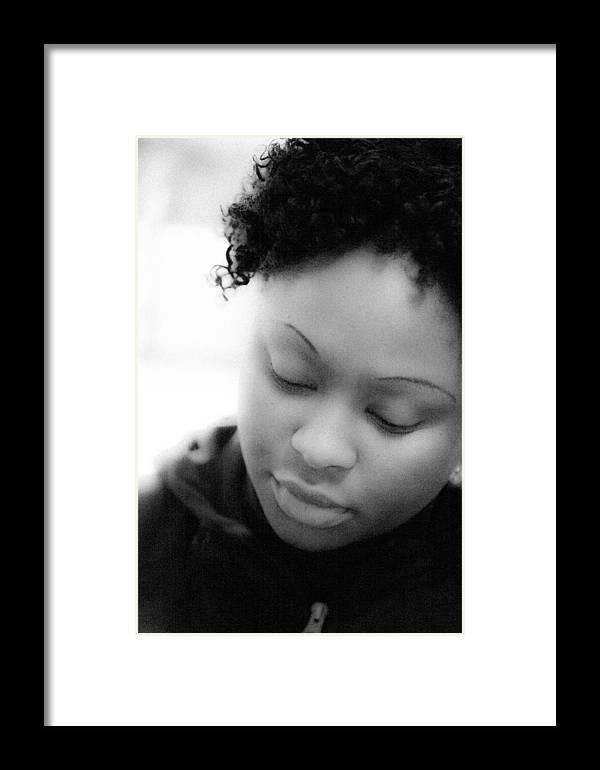 Amina Framed Print featuring the photograph Amina At Moliere by Hakon Soreide