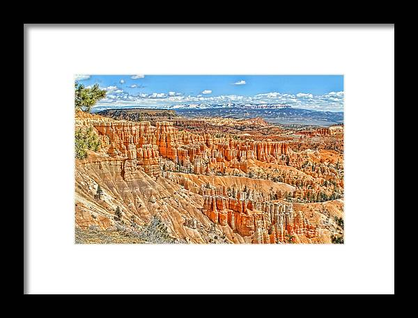 Canyon Framed Print featuring the photograph Amphitheater by Jason Abando