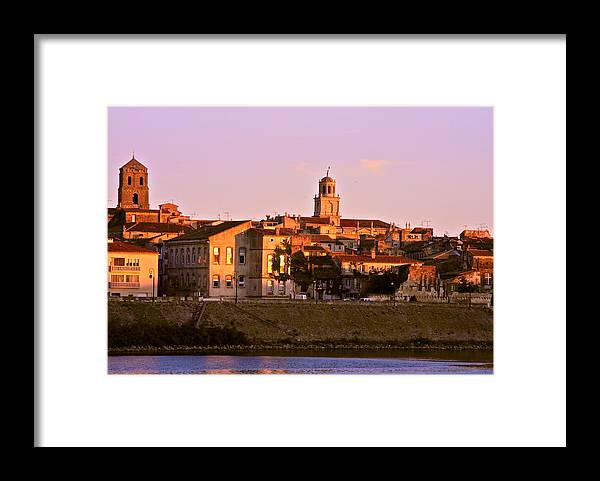 Arles Framed Print featuring the photograph An Evening in Arles by Kirsten Giving