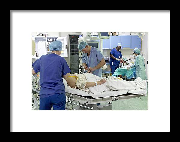 Equipment Framed Print featuring the photograph Anaesthesia by Mr Gordon Muirtony Mcconnell