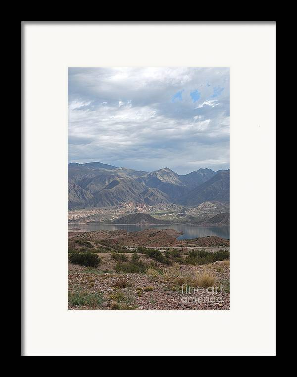 Andes Framed Print featuring the photograph Andes by Jen Bodendorfer
