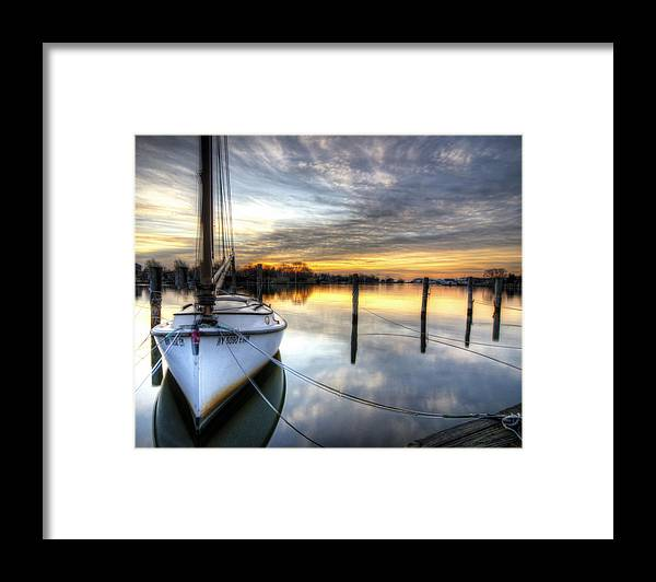 Sunrise Framed Print featuring the photograph Another December Sunrise by Vicki Jauron
