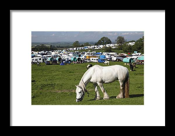 Appleby Horse Fair Framed Print featuring the photograph Appleby Horse Fair by Mark Richardson