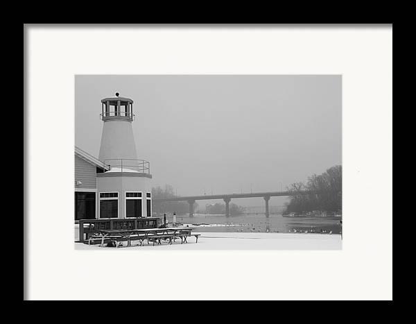 Appleton Yacht Club Framed Print featuring the photograph Appleton Yacht Club by Joel Witmeyer