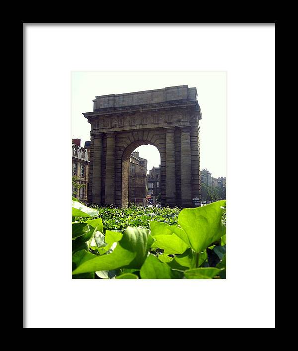 Arch Framed Print featuring the photograph Arch by Alexandre Lafreniere