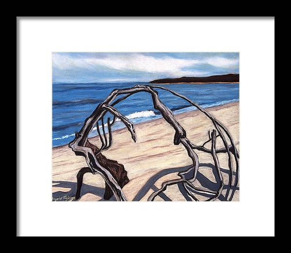 Framed Print featuring the painting Arch by Ingrid Torjesen