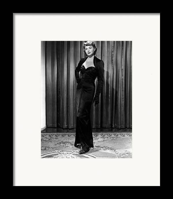 1940s Movies Framed Print featuring the photograph Arch Of Triumph, Ingrid Bergman, 1948 by Everett