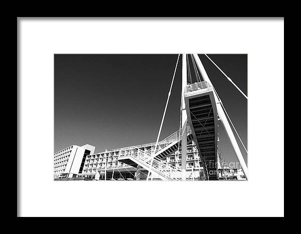 Architecture Framed Print featuring the photograph Architecture by Gaspar Avila