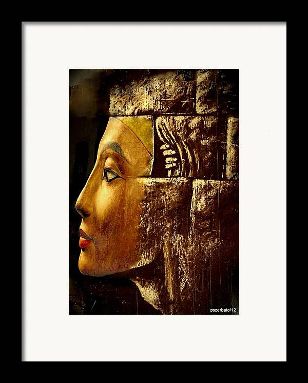 Arkhe Framed Print featuring the digital art Architecture Psychological by Paulo Zerbato