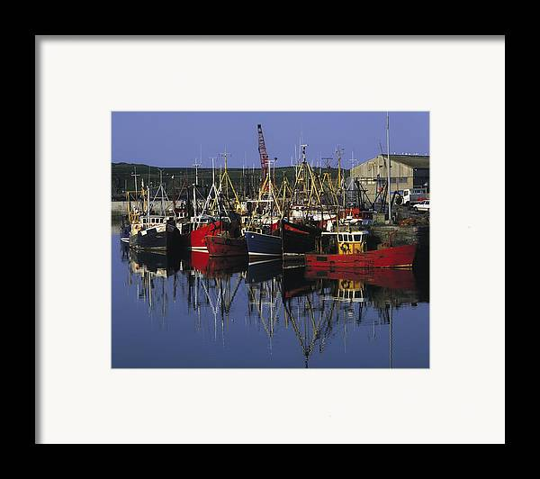 Ardglass Framed Print featuring the photograph Ardglass, Co Down, Ireland Fishing by The Irish Image Collection
