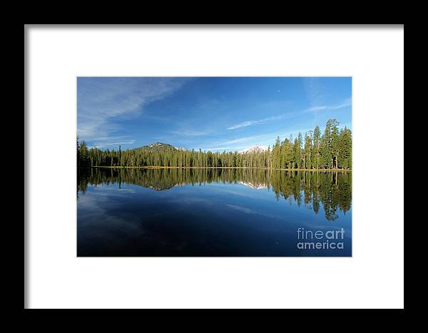Summit Lake Framed Print featuring the photograph Arrowhead Reflection by Adam Jewell