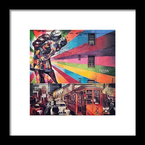 Summer Framed Print featuring the photograph Art By Kobra by Randy Lemoine