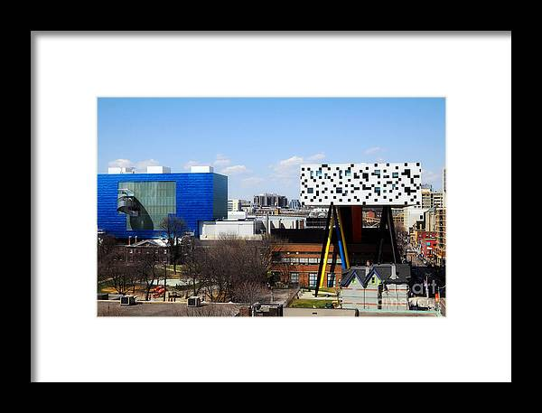Toronto Framed Print featuring the photograph Art Institutions In Toronto by Charline Xia