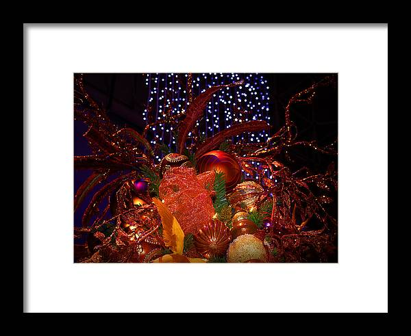 Holidays Framed Print featuring the photograph Art Of The Holidays by Milena Ilieva