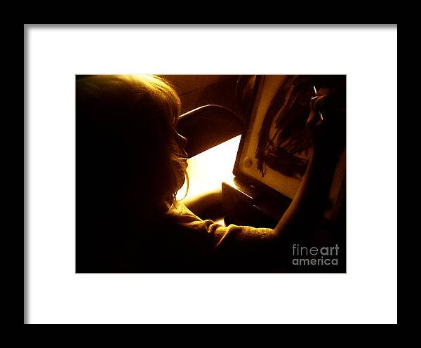Artist Framed Print featuring the photograph Artist In Training by Christy Beal