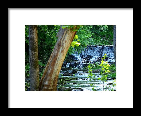 River Framed Print featuring the photograph As The River Runs Through It by Maria Urso