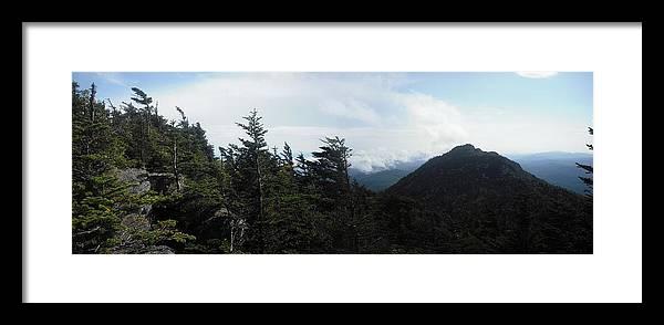 Landscape Framed Print featuring the photograph Attic Window View by Jennifer Eddiba