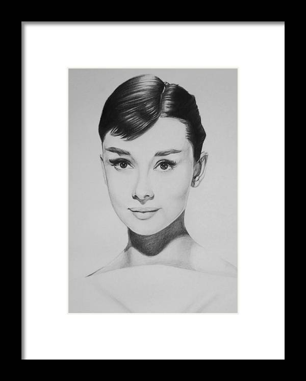 Audrey Hepburn Framed Print by Steve Hunter