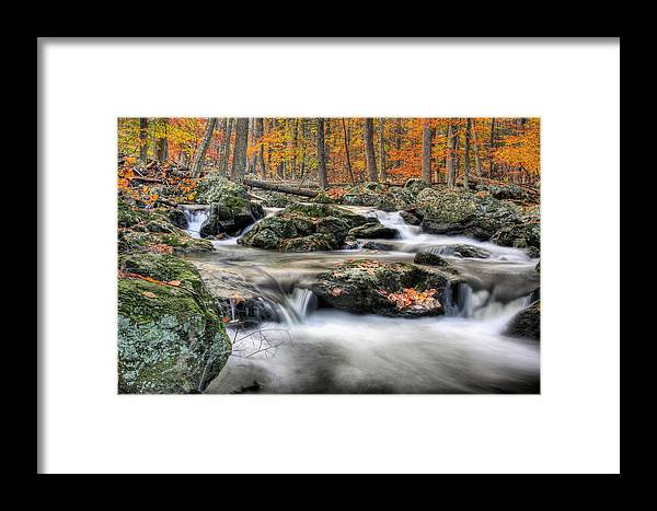Cunningham Falls Framed Print featuring the photograph Autumn Dreams by JC Findley