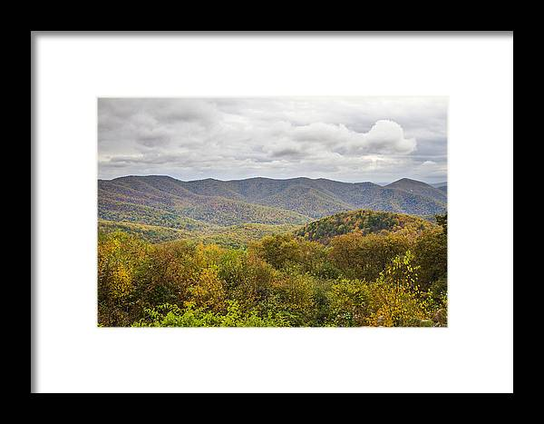 Shenandoah Framed Print featuring the photograph Autumn In Shenandoah National Park by Pierre Leclerc Photography