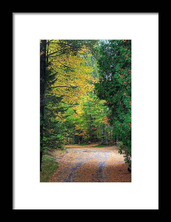 Autumn Framed Print featuring the photograph Autumn by Kean Poh Chua