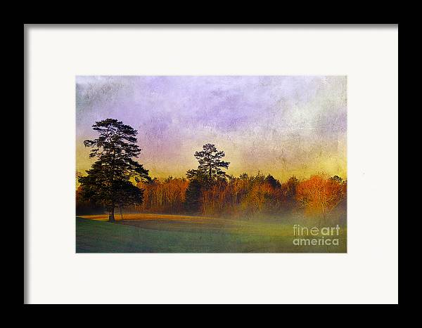 Mist Framed Print featuring the photograph Autumn Morning Mist by Judi Bagwell