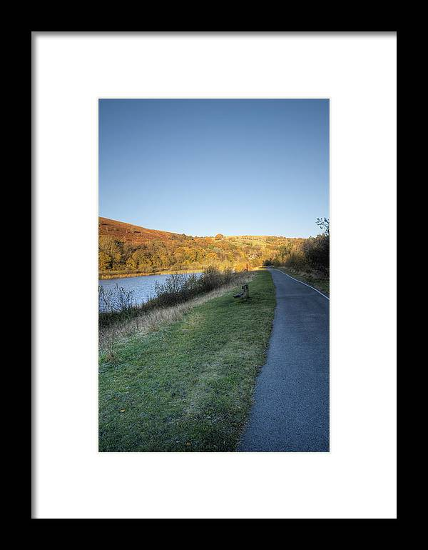 Autumn Pond Framed Print featuring the photograph Autumn Pond 5 by Steve Purnell