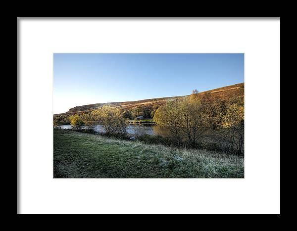 Autumn Pond Framed Print featuring the photograph Autumn Pond 7 by Steve Purnell