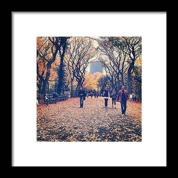 Europe Framed Print featuring the photograph Autumn by Randy Lemoine