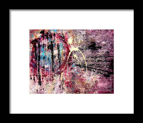 Modern Framed Print featuring the painting Avaados by Alex Blaha
