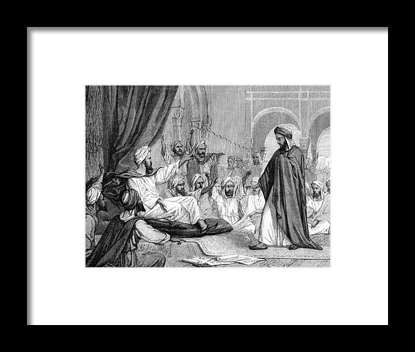 Bn Ahmad Ibn Rushd Framed Print featuring the photograph Averroes, Islamic Physician by