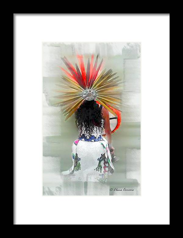 Mexican Framed Print featuring the photograph Aztec by Starlite Studio