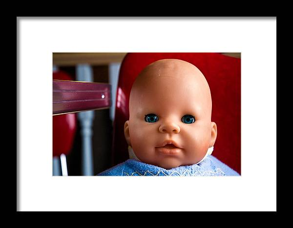 Baby Framed Print featuring the photograph Baby Face by Leslie Philipp