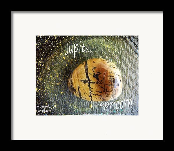 Barack Obama Painting Framed Print featuring the painting Barack Obama Jupiter by Augusta Stylianou