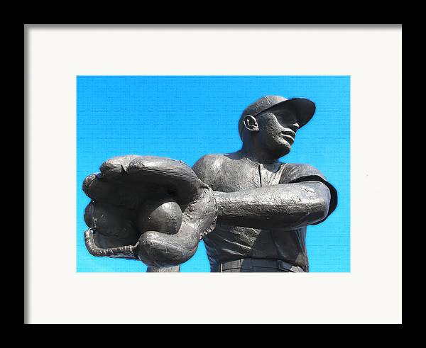 Baseball Framed Print featuring the photograph Baseball - Americas Pastime by Bill Cannon