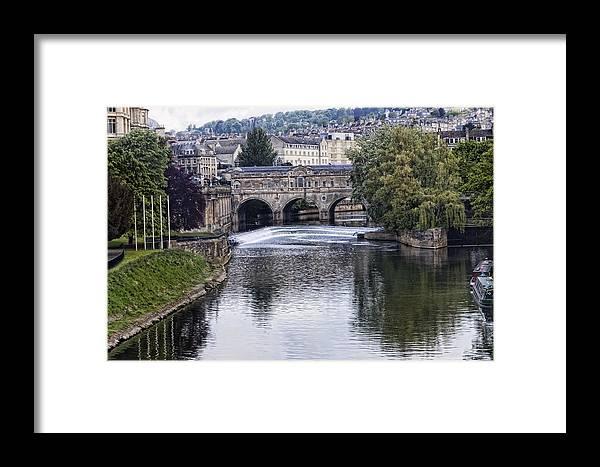 Bath Framed Print featuring the photograph Bath England by Jon Berghoff