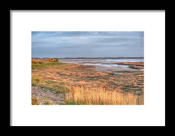 Bay Framed Print featuring the photograph Bay At Shannon Airport Ireland 4 by Douglas Barnett