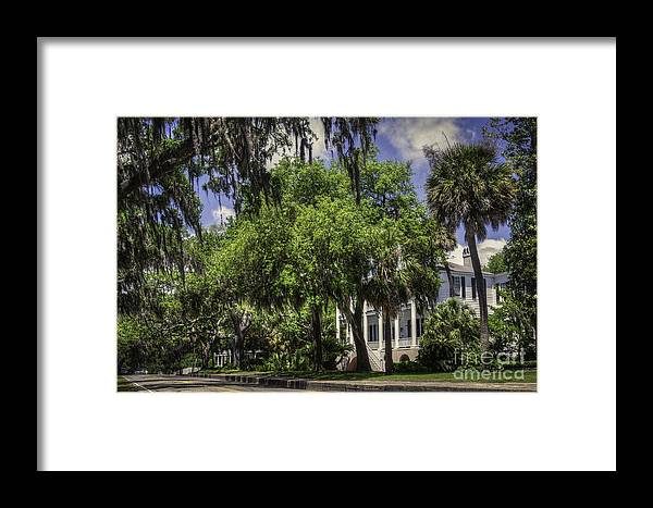 Beaufort Sc Framed Print featuring the photograph Bay Street Beaufort Sc II by David Waldrop