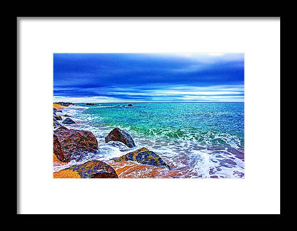 Holiday Framed Print featuring the photograph Beach by Dragomir Nikolov