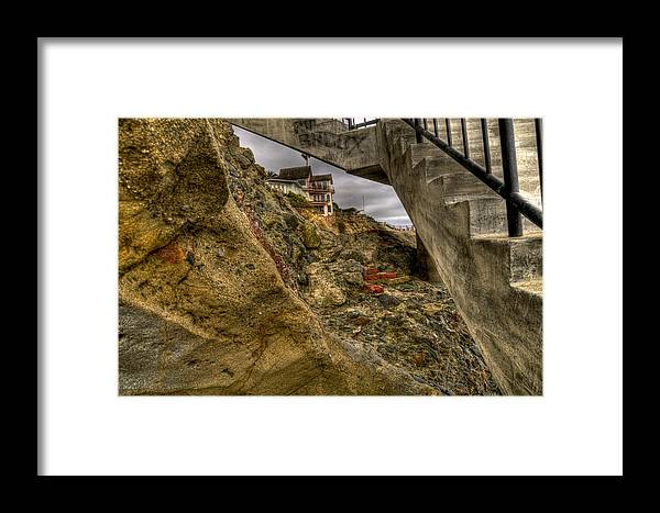 Beach Framed Print featuring the photograph Beach Front View by Craig Incardone