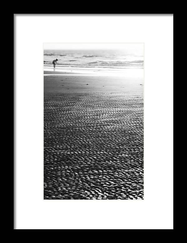 Beach Framed Print featuring the photograph Beach Play by Douglas Barnard