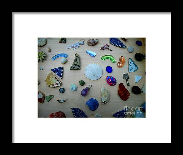 Treasures Framed Print featuring the photograph Beach Treasures by Christy Beal