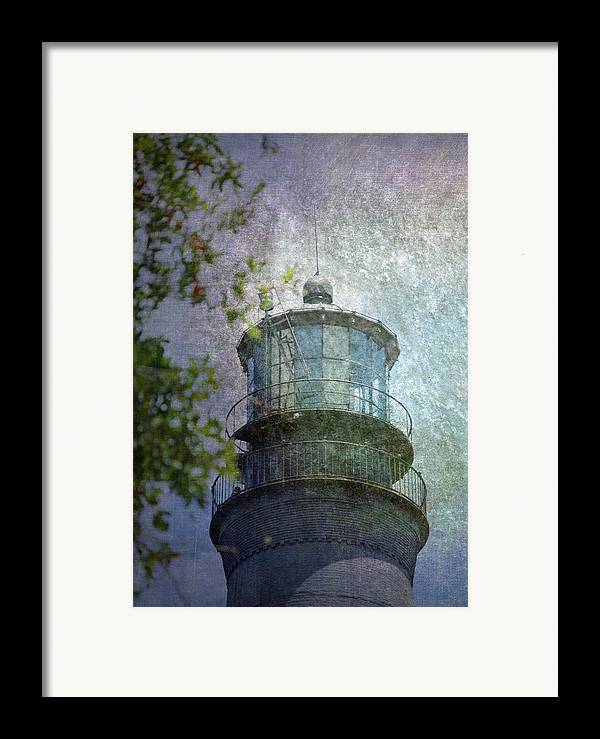 Beacon Framed Print featuring the photograph Beacon Of Hope by Judy Hall-Folde