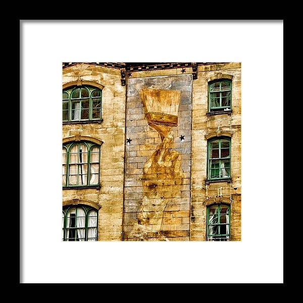 Beautiful Framed Print featuring the photograph #beautiful #building #architecture #art by Joel Lopez