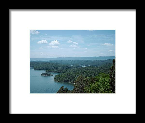 Lake Framed Print featuring the photograph Beautiful Day by Christopher Woytowiez
