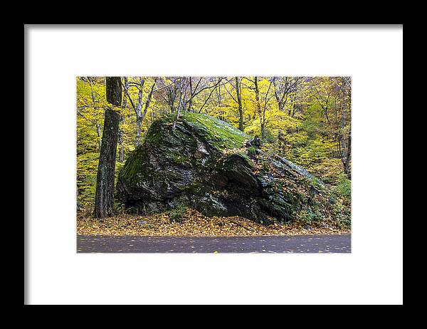 Vermont Framed Print featuring the photograph Beautiful Vermont Scenery 15 by Paul Cannon